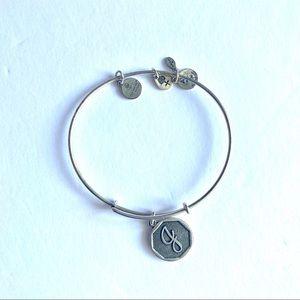 Alex and Ani initial J bracelet